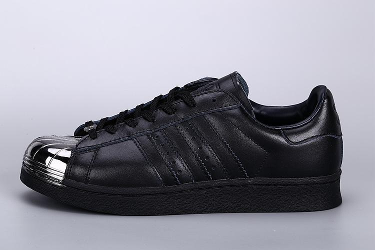 Mens Adidas SUPERSTAR METAL Black Sliver